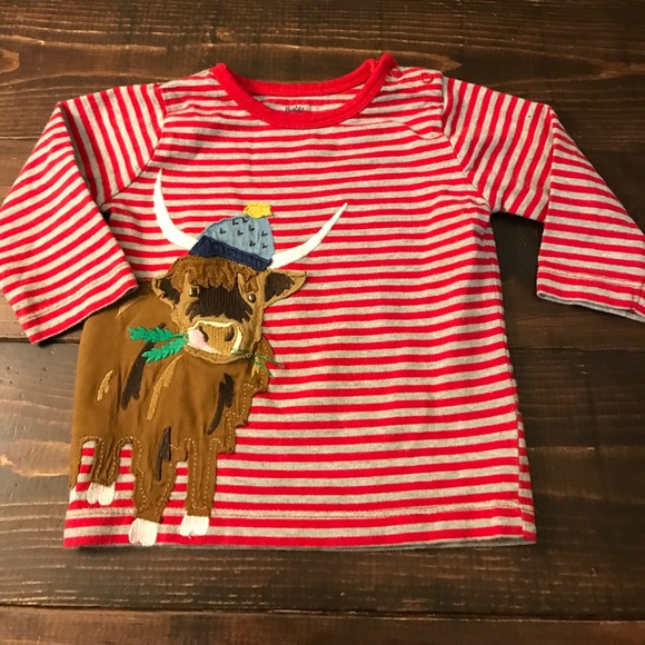 Boys 6-12 Months Baby Boden Red Tops Clothing, Shoes & Accessories